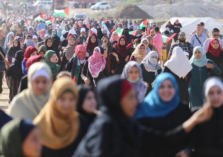 Wanita Israel Berdemo di Perbatasan, Solidaritas Bagi Wanita Palestina