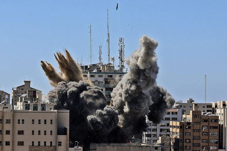 Serangan Udara Israel Meningkat Untuk Gaza