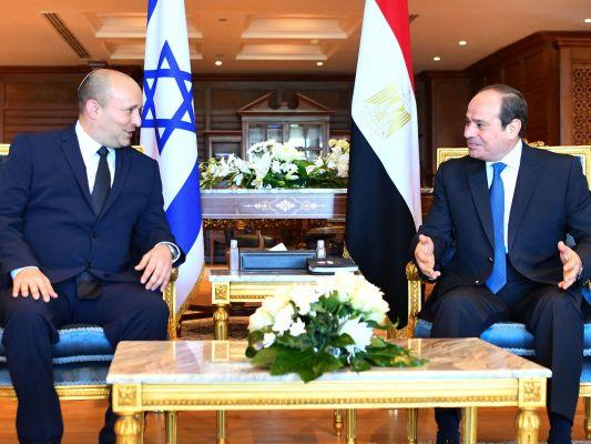 PM Israel dalam perjalanan resmi pertama ke Mesir dalam lebih dari satu dekade